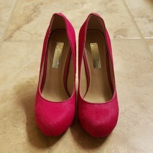 INC Hot Pink Heels